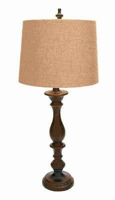 """34""""H Beautifully designed Table Lamp with Long Lasting Shelf Life Brand Woodland"""