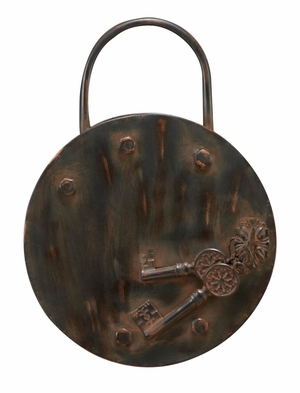 34801 Metal Wall Decor- Lock And Key Concept Makes It Category Apart Brand Woodland