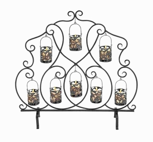 """35""""H Metal Candle Holder Complements Traditional and Modern Decor Brand Woodland"""