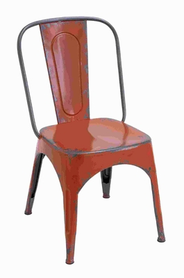 "35""H Wonderful Metal Red Chair for Modern Or Traditional Style Brand Woodland"