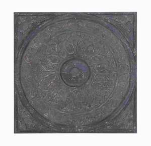 """36"""" H Unique Metal Wall Decor in Earthy Brown and Black Color Brand Woodland"""