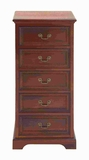 "39""H Wood Tall Dresser with Drawers for Added Storage Capacity Brand Woodland"