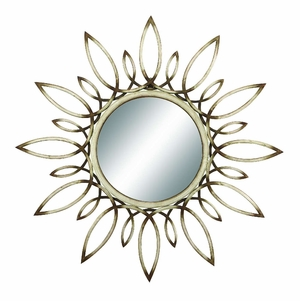"39066 Metal Mirror 31""D �For Decor Enthusiasts Who Want The Best Brand Woodland"