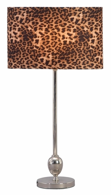 40095 Metal Table Lamp �Add Wild Flavor To Existing Decor Theme Brand Woodland