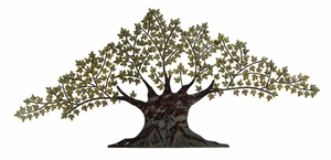 "41"" Classic Grand Tree Metal Wall Artistic Decor Sculpture Brand Woodland"