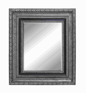 "43""H Classic Wood Beveled Mirror with Charming Beveled accents Brand Woodland"