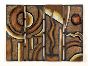"""44"""" Classic Wide Vision Metal Wall Decor Artistic Sculpture Brand Woodland"""