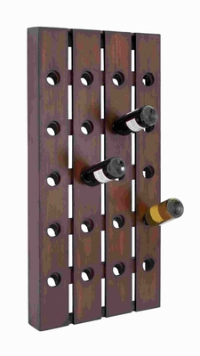 """44"""" H Attractive Wood Wine Rack Designed with Great Finesse Brand Woodland"""