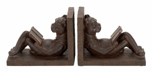 44657 Polystone Bookend Pair – An Impressive Style To Decor Kids Room Brand Woodland