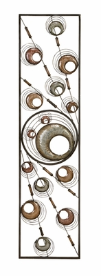 "48"" Circular Maze Classic Metal Wall Art Decor Sculpture Brand Woodland"