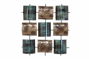 "52709 Metal Wall Decor 29""H, 26""W Brand Woodland"