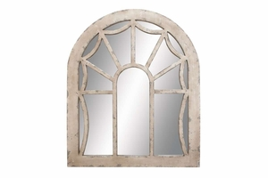"""52711 Wood Mirror 44""""H, 36""""W- Special Wall Decor For Smart People Brand Woodland"""