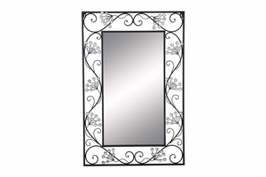 53001 Metal Mirror - Fine Hand Work Makes It Special Brand Woodland