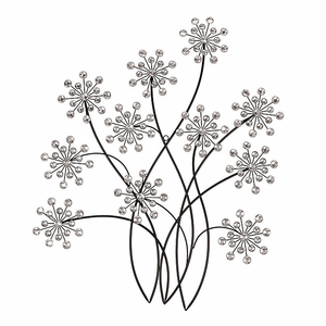 """53005 Wall Decor 31""""H, 24""""W- Flowered Twigs Attracts One And All Brand Woodland"""
