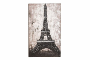 "53653 Canvas Art 60""H, 40""W- Eiffel Tower Wall Hanging Brand Woodland"