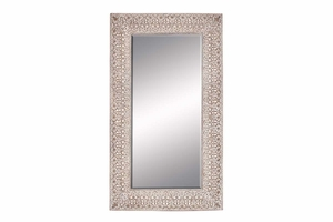 "53952 Polyurethane Frame Mirror 86""H, 49""W- Hard To Resist Brand Woodland"