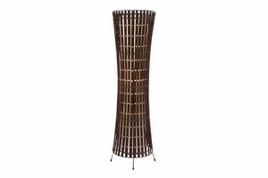 "54202 Metal Wood Floor Lamp 40""H - Decorative Floor Lighting Brand Woodland"