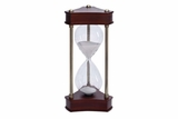 58191 Wood Metal Glass Sand Timer :1 Hour Glass Brand Woodland