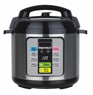 6.5-Quart Electric Pressure Cooker by Sunpentown