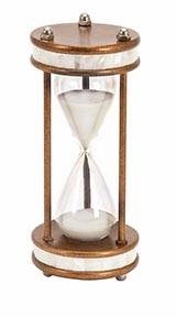 60 Min Hour Glass Nautical Ship Sand Timer, Metal Hour Glass Brand Woodland