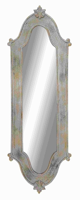 """63""""H Modern Wood Mirror with Elegant and Attractive Design Brand Woodland"""