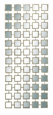 "64112 Metal Mirror Wall Panel 47""H, 19""W- Glittering Wall Decoration Brand Woodland"