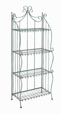 "65""H Metal Bakers Rack with Striking Design Brand Woodland"
