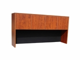 "66"" Four Door Hutch - Cherry by Boss Chair"