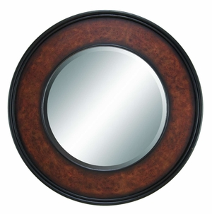 "66102 Wood Mirror Frame 36""D- Coordinating To Any Interior Decor Brand Woodland"