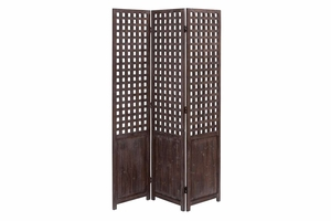 "66731 WOOD SCREEN 69""H, 48""W - Privacy And Decor Both"