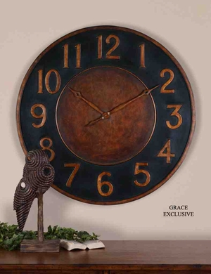 6691 Matera Clock: Time Watching Was Never So Pleasurable Brand Uttermost