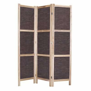 "67"" Unique Sumatra 3 Panel Wooden Outdoor with Matt Finish Brand Screen Gem"
