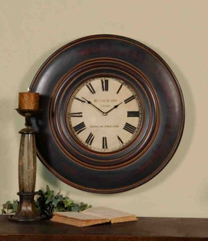 6724 Adonis Clock: Versatile Wall Decor Product Brand Uttermost