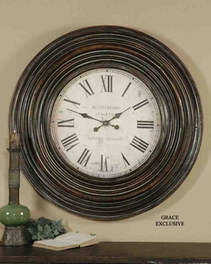 6726 Trudy Clock: Draws The Attention Of Visitors Automatically Brand Uttermost