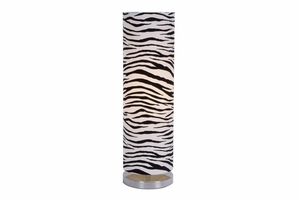 "67648 Metal Zebra Lamp 26""H � Table Lamp That Looks Like  Sculpture Brand Woodland"