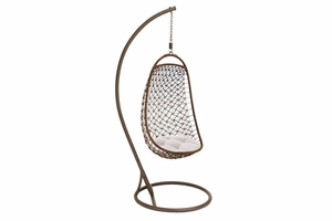 "68720 Metal Hanging Chair 84""H, 35""W- Enjoy The Decoration Brand Woodland"