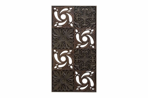 "69153 Polystone Wall Plaque 49""H, 25""W- Anytime Wall Decor Refresher Brand Woodland"