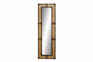 "69154 Wood Dressing Mirror 67""H, 21""W- Dress Up In Style Brand Woodland"