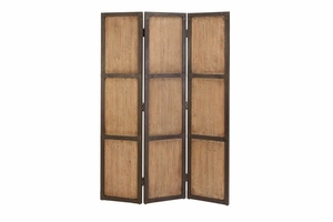 "69157 Wood Screen 71""H, 48""W- Stylish Space Separation Brand Woodland"