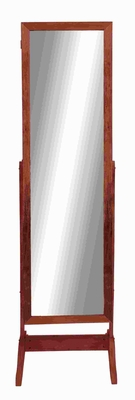 "71""H Wood Floor Mirror for Modern and Traditional Decor Brand Woodland"