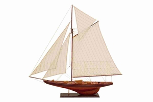 "71590 Wood Ship 51""W, 49""H- Feel The Nautical Decor Beauty Brand Woodland"