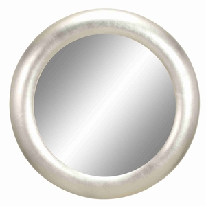 "87041 Polystone Round Mirror Frame 32""D- The Proud Of Owners Brand Woodland"