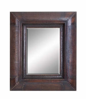 "89211 Wood Mirror 47""H, 38""W: Multipurpose wall decor Brand Woodland"