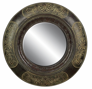 "89215 Wood Mirror Frame 40""D: Designed For Special Locations Brand Woodland"