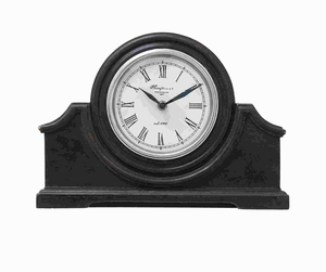 """9"""" H Unique And Modern Wood Table Clock with Sturdy Design Brand Woodland"""