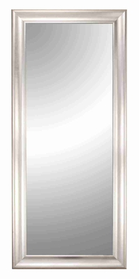 "93604 Wood Beveled Mirror 67""H, 31""W Brand Woodland"