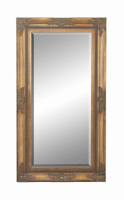 "93621 Wood Beveled Mirror  77""H, 41""W- Wall Decor Brand Woodland"