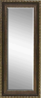"96491 Wood Mirror 55""H, 23""W �See It And Get It Decor Item Brand Woodland"