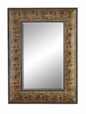 "96609 Metal Mirror 44""H, 32""W: Affordable Promotion Gift Brand Woodland"