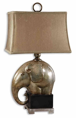Abayomi Antique Champagne Lamp with Aged Black Base Brand Uttermost